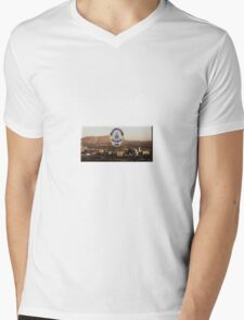Riverside Police Mens V-Neck T-Shirt