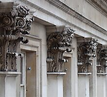 'Acanthus Capitals' Courtauld Institute of Art, London by Mark P Hennessy