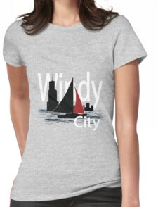 Windy City Womens Fitted T-Shirt