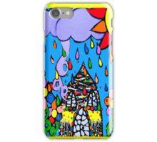 Happy rain iPhone Case/Skin