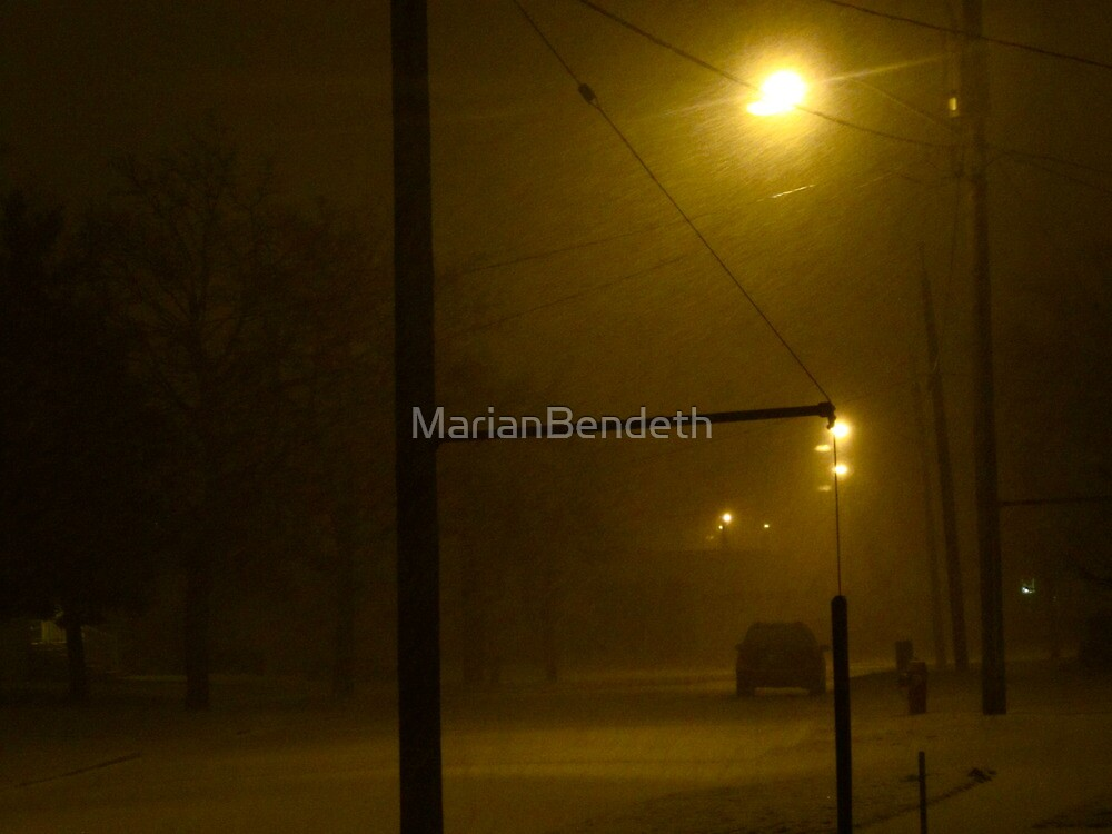 February deluge by MarianBendeth