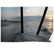 Sunrise At The Beach Poster