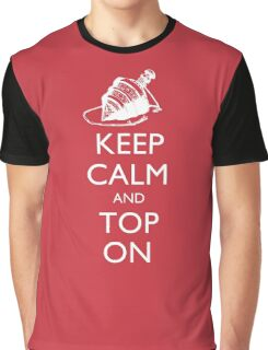 Magic the Gatherin: Keep Calm & Top On Graphic T-Shirt