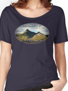 destruction and regrowth seen from Johnston's Ridge oval Women's Relaxed Fit T-Shirt