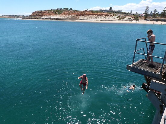 Port Noarlunga Australia  city pictures gallery : GANGNAM STYLE JUMPING!' Port Noarlunga, South Australia. by Rita Blom