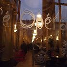 Bordeaux cafe reflected by graceloves