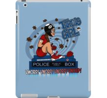Tardis Girl iPad Case/Skin