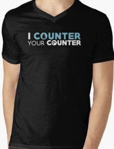Magic the Gathering: I Counter Your Counter Mens V-Neck T-Shirt