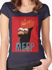 MEEP Women's Fitted Scoop T-Shirt