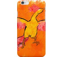 Moltres Through the Flames iPhone Case/Skin