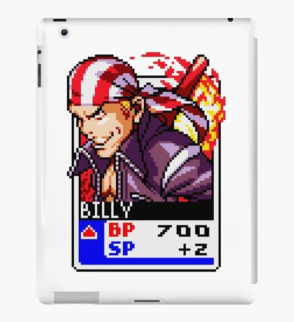 Billy Kane - Fatal Fury/King of Fighters/KOF/SNK iPad Case/Skin