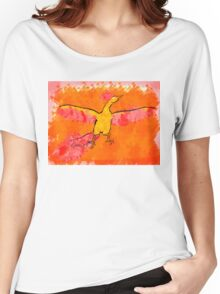 Moltres Through the Flames Women's Relaxed Fit T-Shirt
