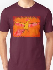 Moltres Through the Flames Unisex T-Shirt