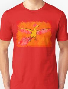 Moltres Through the Flames T-Shirt