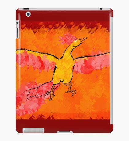 Moltres Through the Flames iPad Case/Skin