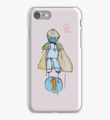 Yellow Cape bunny by cint clare iPhone Case/Skin