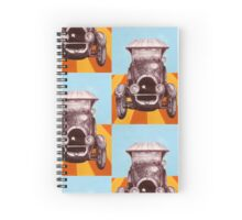 The Sheriff's Car Spiral Notebook