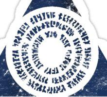 Azorius Senate Guild Sticker