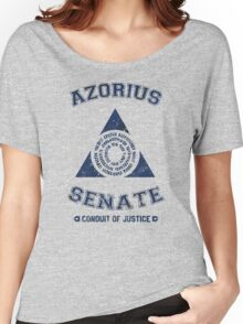 Magic the Gathering: Azorius Senate Guild Women's Relaxed Fit T-Shirt