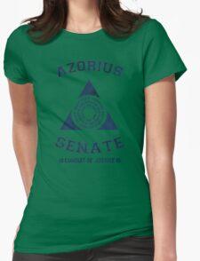 Magic the Gathering: Azorius Senate Guild Womens Fitted T-Shirt