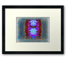 Cryogenics until they find a cure for Love Framed Print