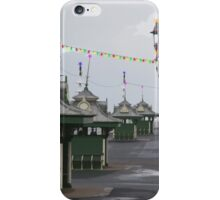 Blackpool Xmas Cards - Light Houses iPhone Case/Skin