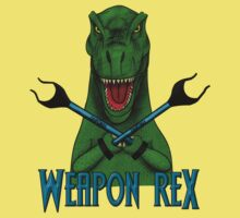 Weapon Rex Kids Clothes