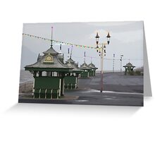 Blackpool Xmas Cards - Light Houses Greeting Card