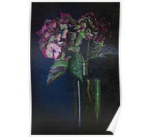 Autumnal Hydrangea Poster