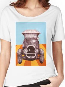 The Sheriff's Car Women's Relaxed Fit T-Shirt
