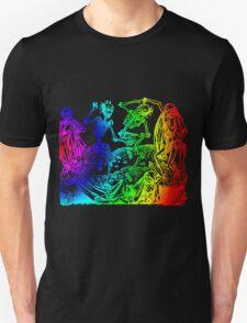 Multicolored Dance Macabre T-Shirt
