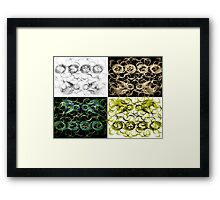 ©NLE Jumping at shadows In Colors Framed Print