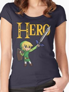 The Hero of Wind Women's Fitted Scoop T-Shirt