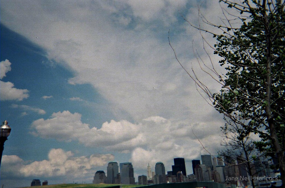 Spring 2002, The Skies Over NYC by Jane Neill-Hancock