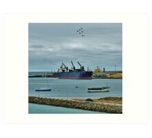 Planes and Boats Art Print