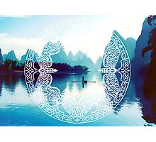 Lake in China Photographic Print