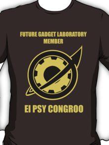 Future Gadget Laboratory Member - Steins;Gate T-Shirt