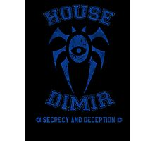 Magic the Gathering: House of Dimir Guild Photographic Print