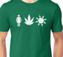 Women Weed Weather  Unisex T-Shirt