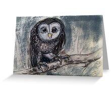 Owlish Greeting Card