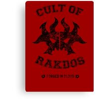 Magic the Gathering: Cult of Rakdos Guild Canvas Print