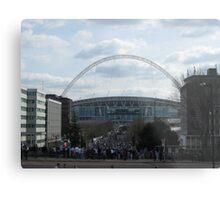Wembley Stadium Metal Print