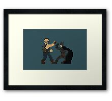When Gotham Is Ashes You Have My Permission To Die. Framed Print
