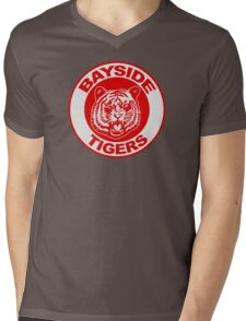 Saved by the bell: Bayside Tigers Mens V-Neck T-Shirt