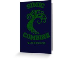 Magic the Gathering: Simic Combine Guild Greeting Card