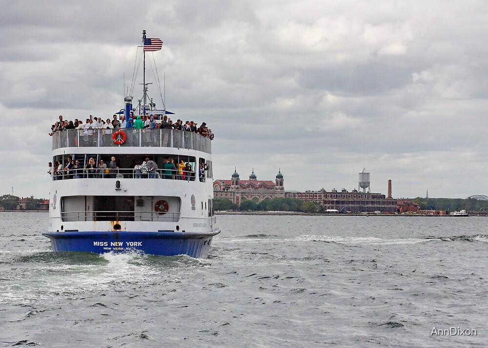 Miss New York, Ferry by AnnDixon