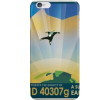 HD 40307g Space Mars Travel Poster iPhone Case/Skin