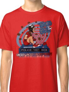 Tardis Girl Classic T-Shirt