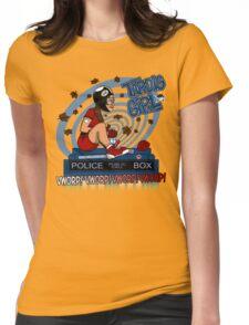 Tardis Girl Womens Fitted T-Shirt