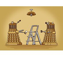 Dalek DIY Photographic Print